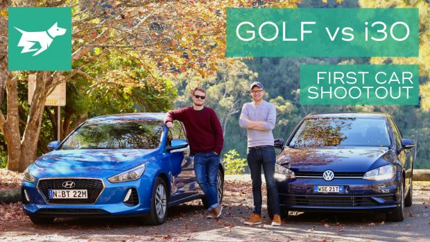 Golf vs i30 Comparison First Car Shootout