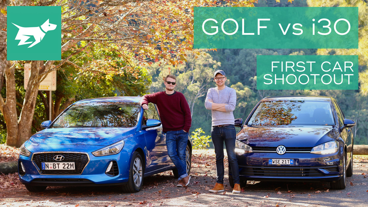 Golf vs i30 Comparison First Car Shootout