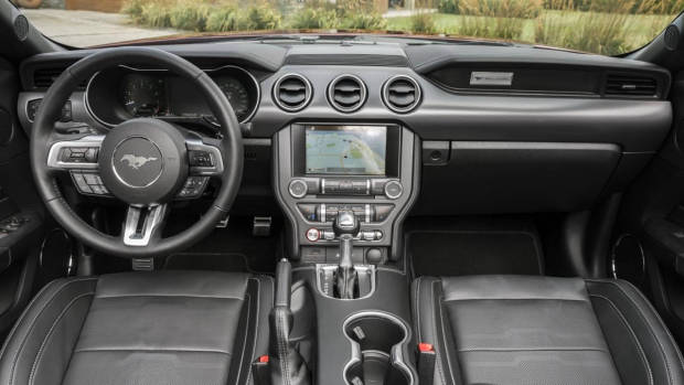 2018 Ford Mustang GT dashboard