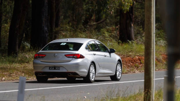 2018 Holden Commodore Calais Nitrate Silver Rear End