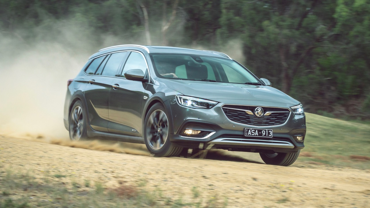 2018 Holden Commodore Calais V Tourer Cosmic Grey Off Road