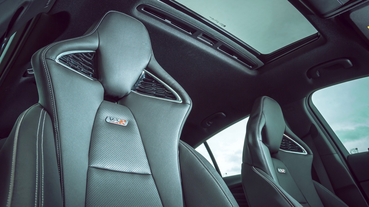 2018 Holden Commodore VXR Black Leather Seats