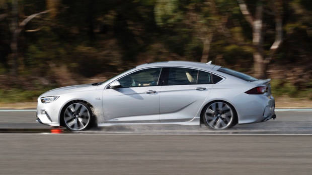 2018 Holden Commodore VXR Nitrate Silver Skid Pan