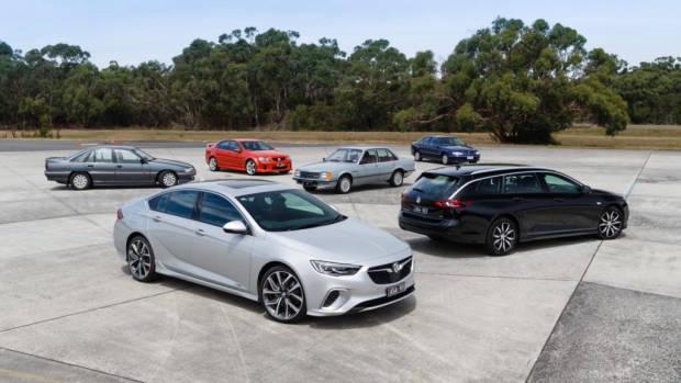 2018 Holden Commodore VXR RS Wagon Heritage Range
