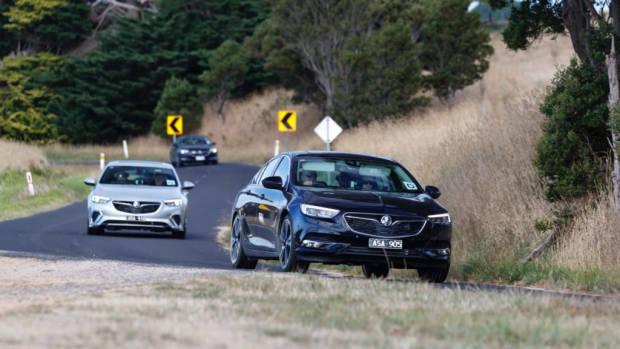 2018 Holden Commodore ZB Range Driving