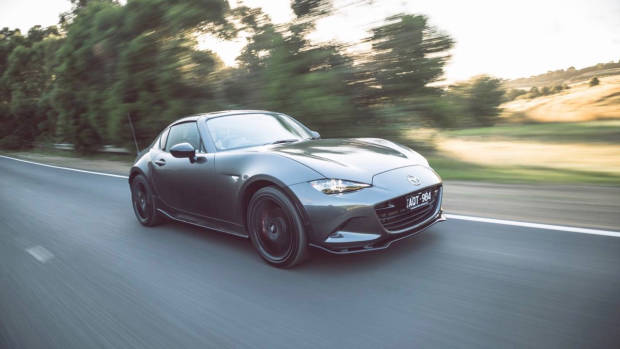 2018 Mazda MX-5 RF Limited Edition Machine Grey front