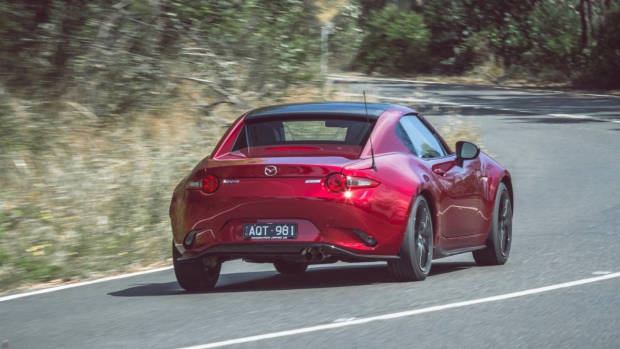 2018 Mazda MX-5 RF Limited Edition Soul Red rear