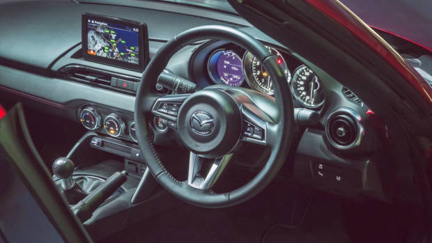 2018 Mazda MX-5 RF Limited Edition interior
