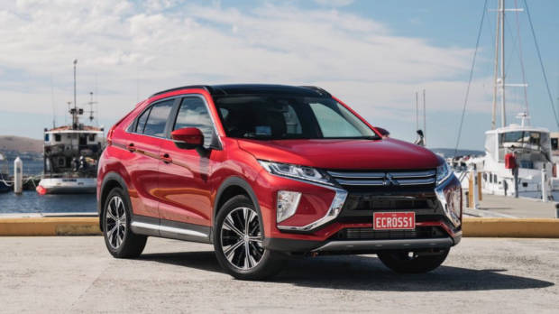 2018 Mitsubishi Eclipse Cross Review Red Diamond Static Front