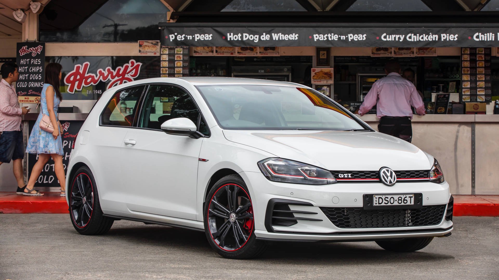 2018 Volkswagen Golf GTI Original Harry's Cafe