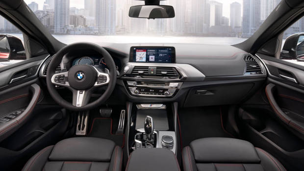 2019 BMW X4 M40d dashboard