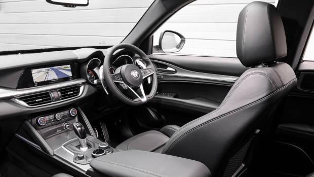 2018 Alfa Romeo Stelvio First Edition interior