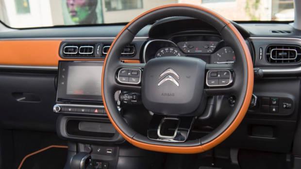 2018 Citroen C3 Review Shine Hype Colorado Steering Wheel