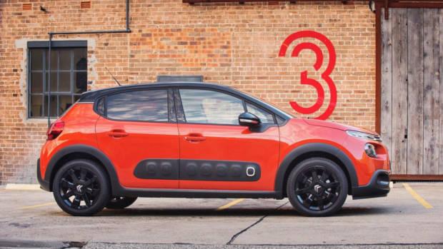2018 Citroen C3 Review Shine Orange Power Side Profile