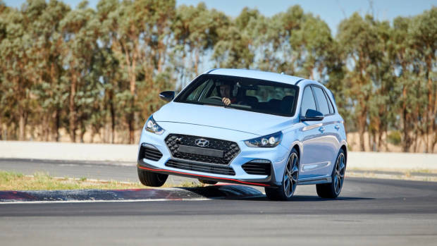 2018 Hyundai i30 N Review Performance Blue Winton Circuit