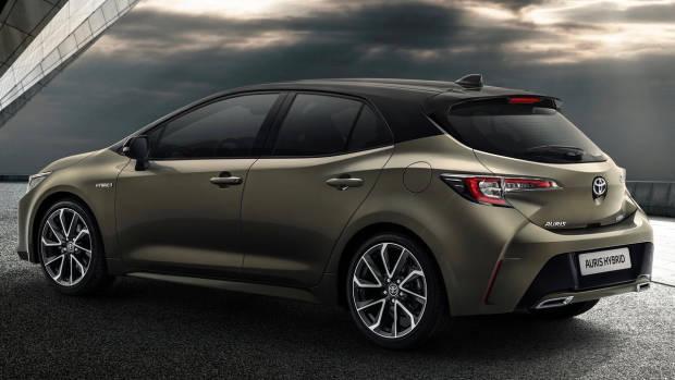 2018 Toyota Corolla rear 3/4