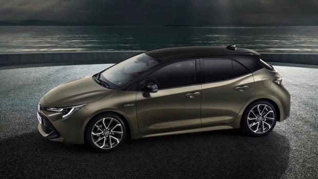 2018 Toyota Corolla side