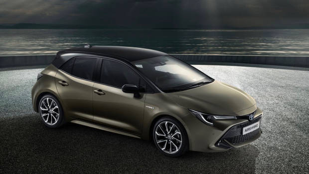 2018 Toyota Corolla top front 3/4