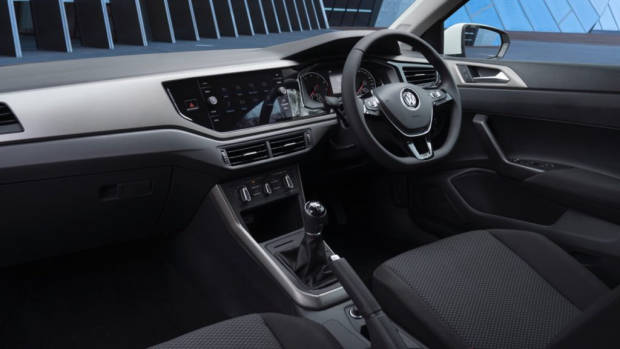 2018 Volkswagen Golf Review 70TSI Grey Cloth Interior