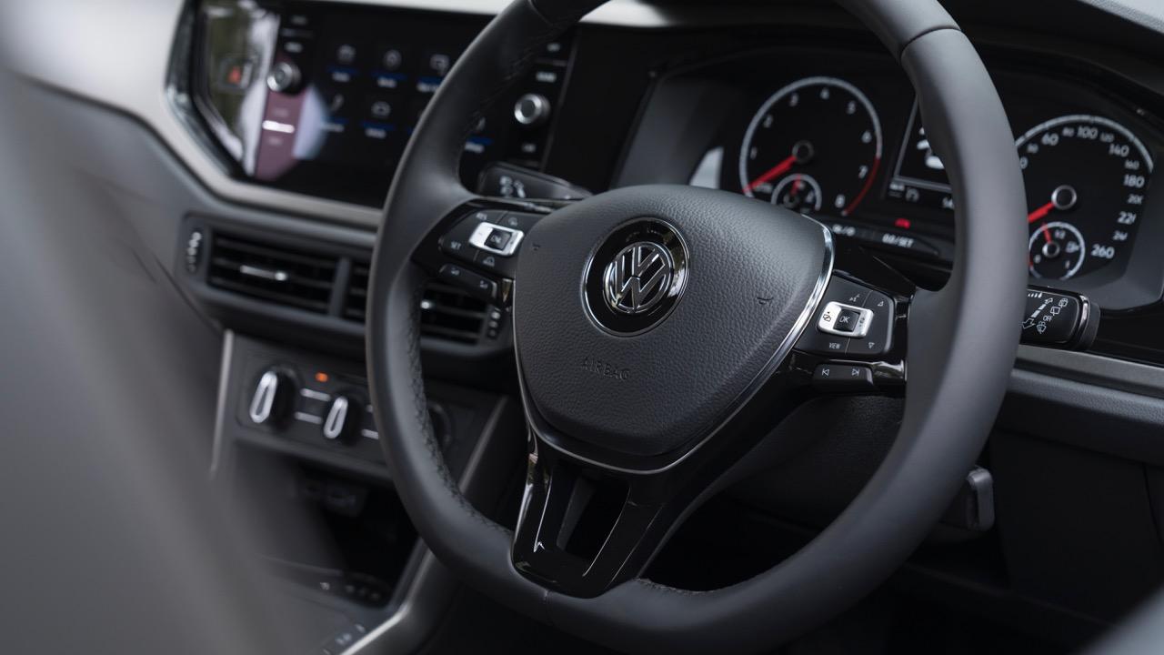 2018 Volkswagen Golf Review Leather Steering Wheel