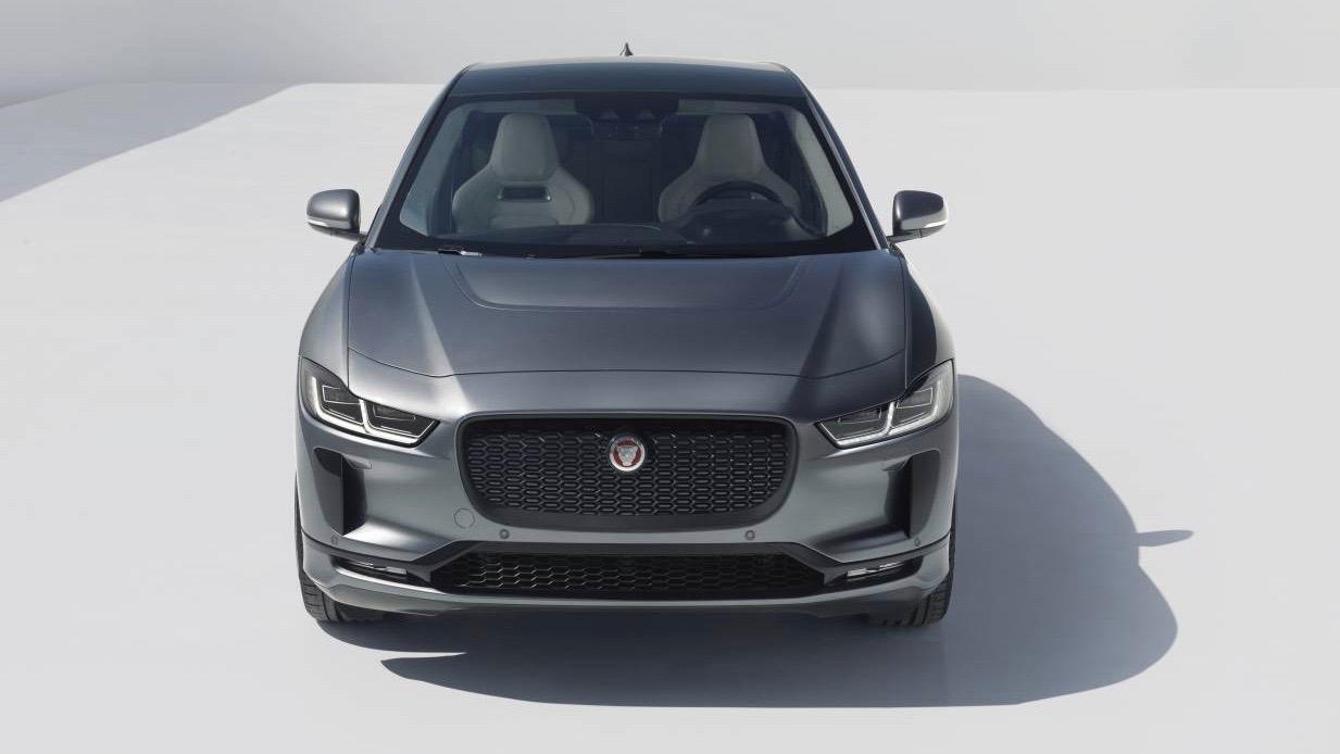 2019 Jaguar I-Pace grey front