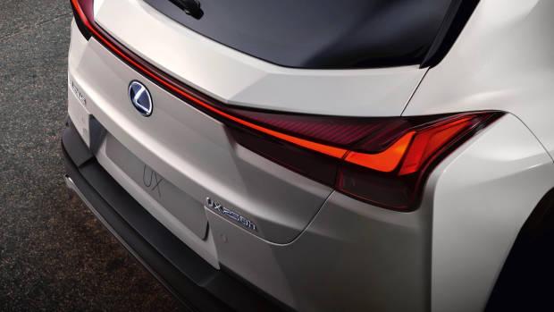 2019 Lexus UX white rear detail