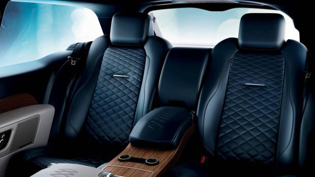 2019 Range Rover SV Coupe rear seat