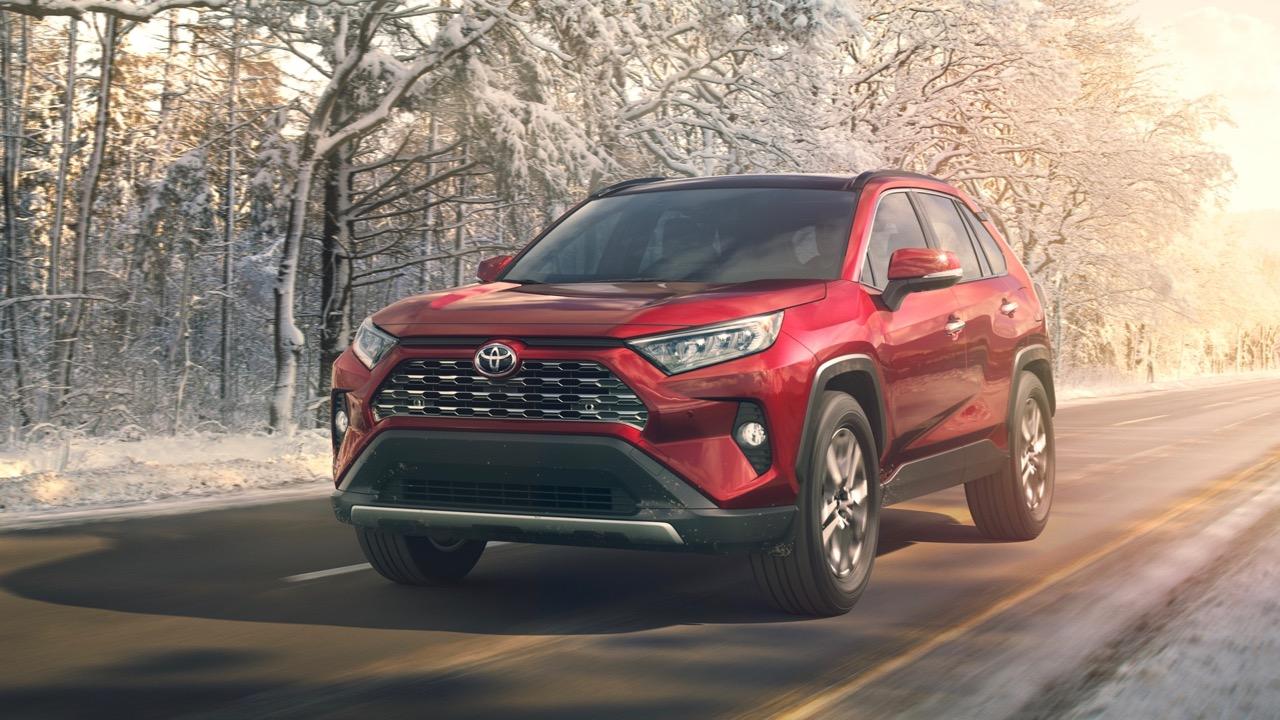 2019 Toyota RAV4 red front