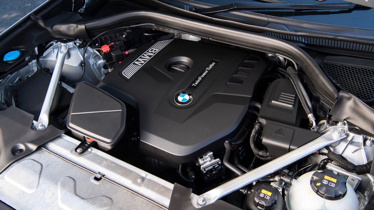 2018 BMW X3 Review Engine