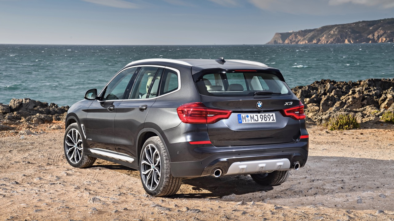 2018 BMW X3 Review Sophisto Grey Rear End