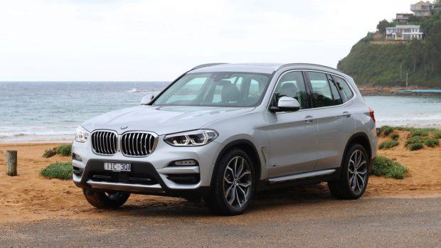 2018 BMW X3 review Glacier Silver Front End