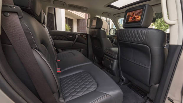 2018 Infiniti QX80 Review Back Seat Space