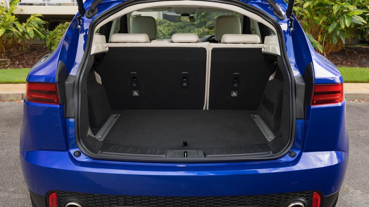 2018 Jaguar E-Pace review P250 boot space