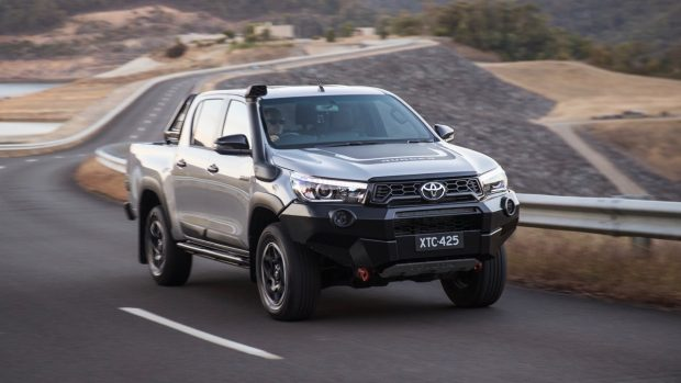 2018 Toyota HiLux Rugged X Front End Driving