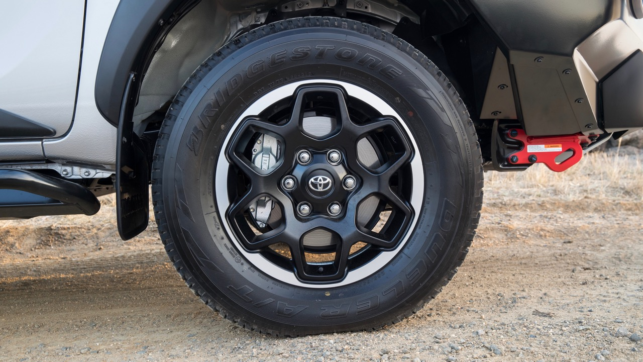 2018 Toyota HiLux Rugged X Review Alloy Wheel