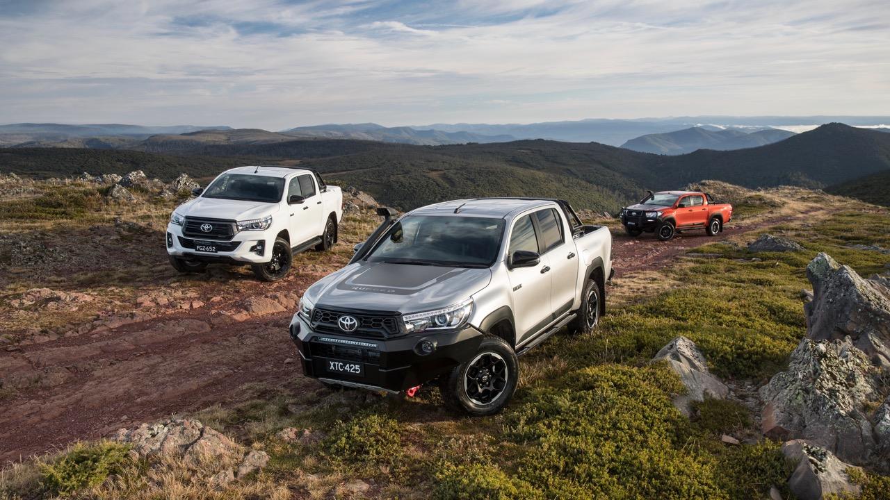 2018 Toyota HiLux Rugged X Rogue Rugged