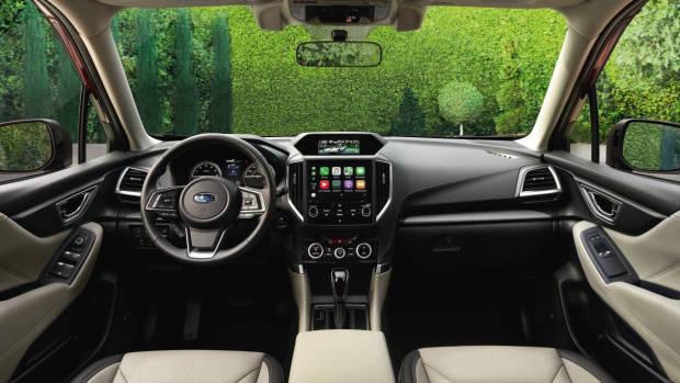 2019 Subaru Forester dashboard
