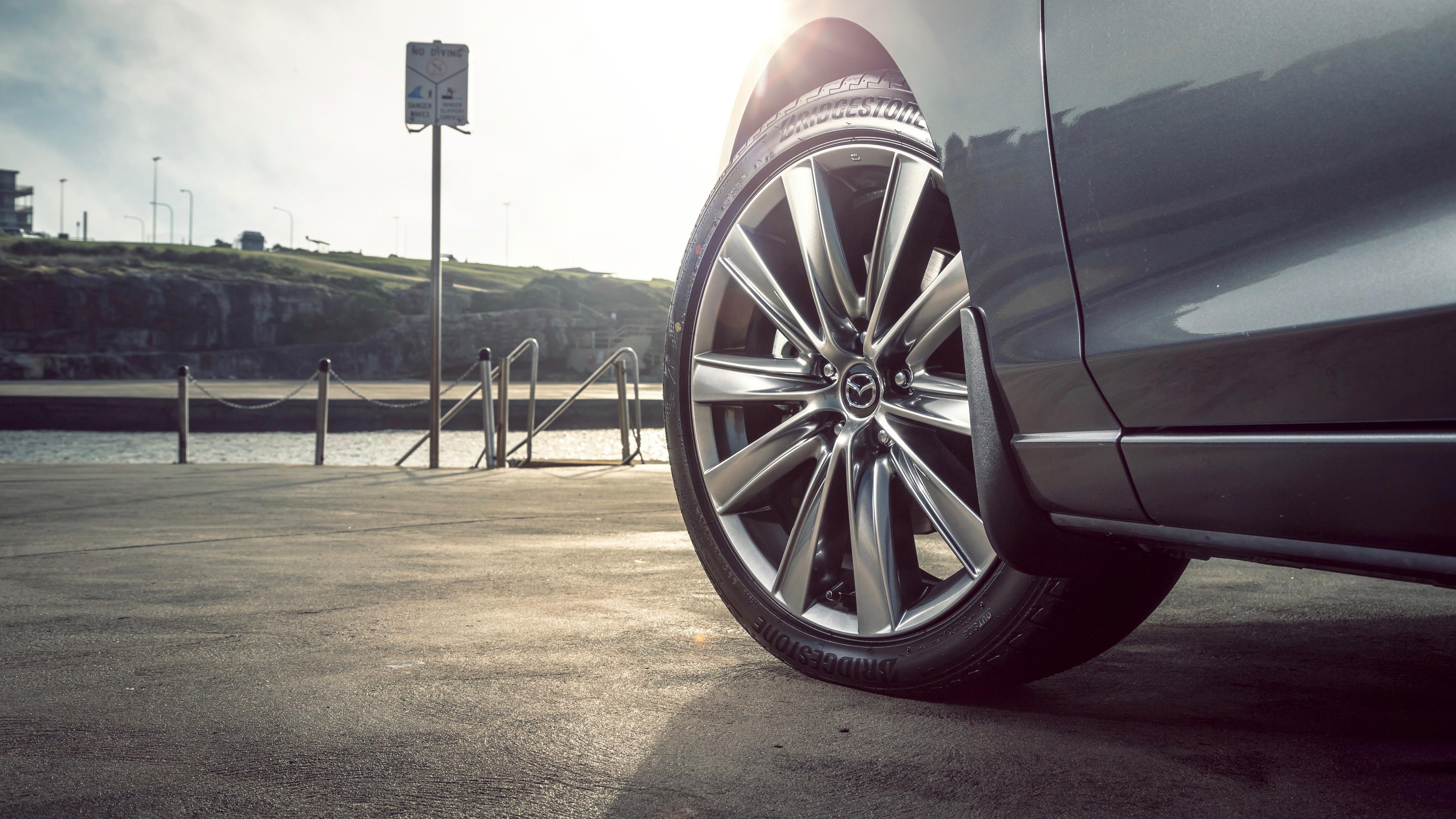 2018 Mazda 6 Atenza wheel detail