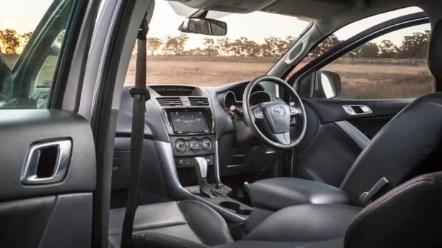 2018 Mazda BT-50 GT cabin