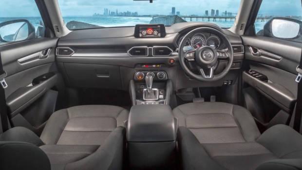 2018 Mazda CX-5 Maxx Sport review interior