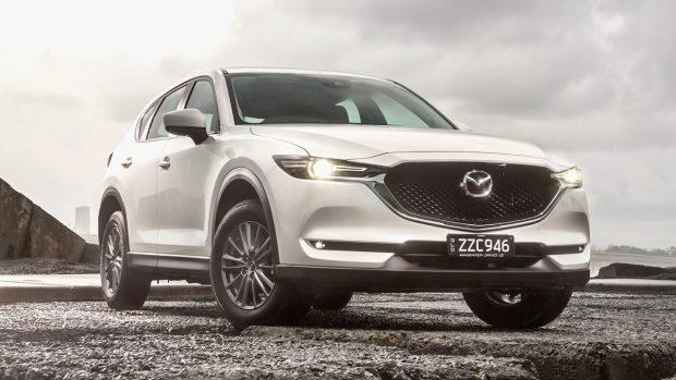 2018 Mazda CX-5 Maxx Sport review white
