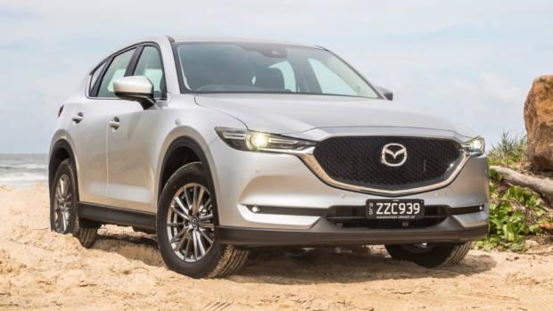 2018 Mazda CX-5 Touring review silver