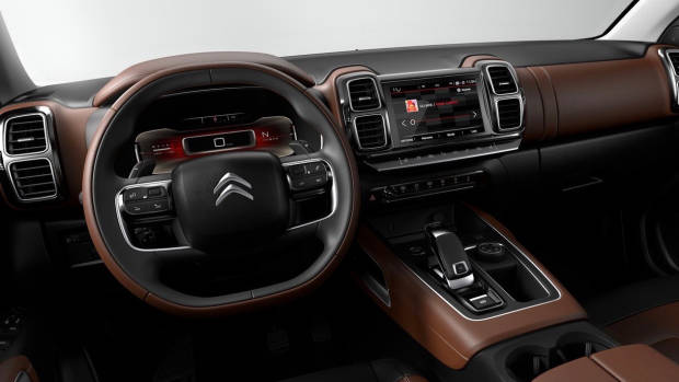 2019 Citroen C5 Aircross dashboard2019 Citroen C5 Aircross dashboard