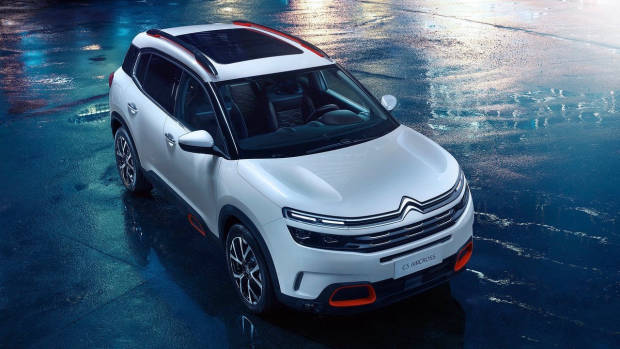 2019 Citroen C5 Aircross front 3/4 high