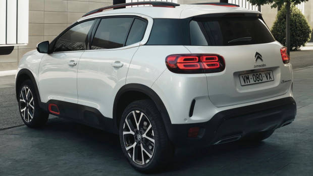 2019 Citroen C5 Aircross rear 3/4