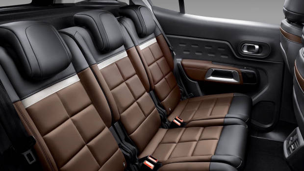 2019 Citroen C5 Aircross rear seat