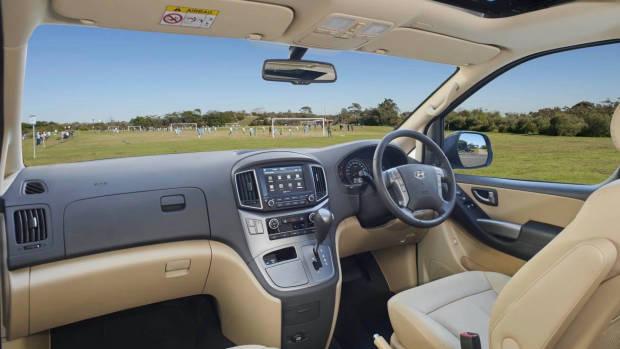 2019 Hyundai iMax Elite interior