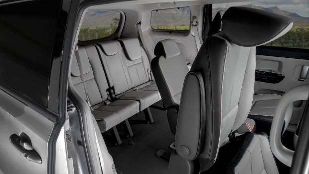 2019 Kia Carnival rear seating