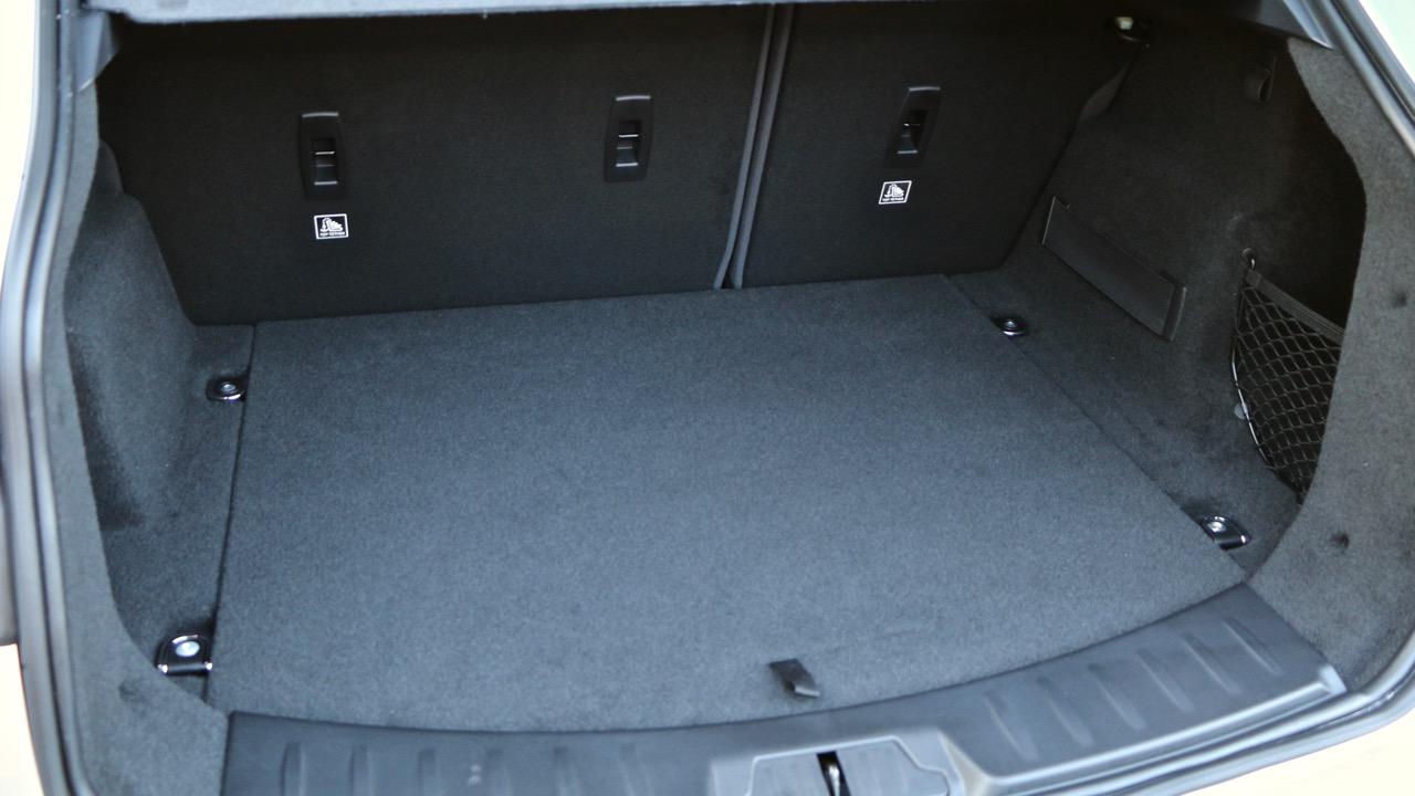 2018 Jaguar E-Pace review D180 boot space