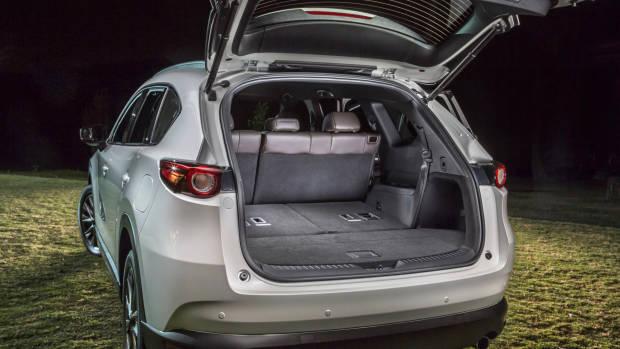 2018 Mazda CX-8 Asaki 3rd row folded